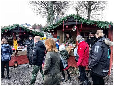 Foto från Julmarknad på Sandhamn