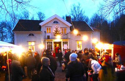 Foto från Julmarknad på Ingaryd