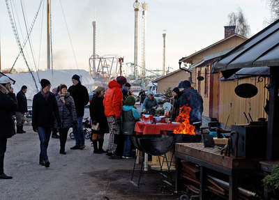 Foto från Skeppholmsgårdens Julmarknad