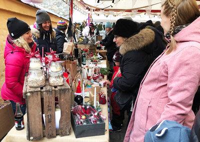 Foto från Långholmens julmarknad