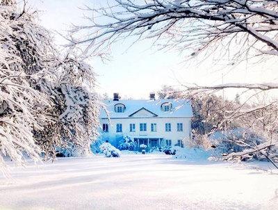 Foto från Julmarknaden på Istorps prästgård