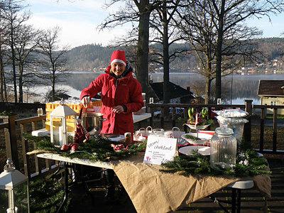 Foto från Julmarknad på sommargården Ekhagen