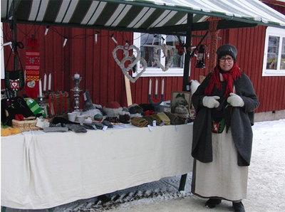 Foto från Hantverksmarknad i juletid på Sätra Brunn