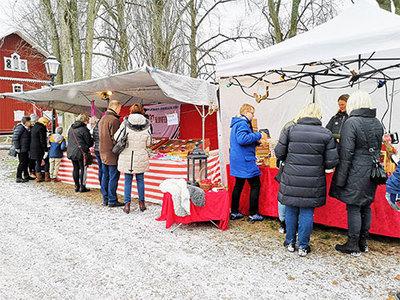 Foto från Julmarknad på Ruders Egendom