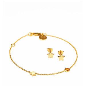 Armband & Örhänge i guld