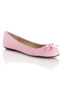 Supersöta rosa ballerinaskor
