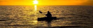 Fiska från Kajak