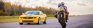 Kör en Tävlingsmotorcykel