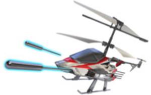 radiostyrd helikopter med missiler