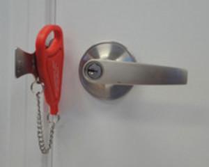 Smart lås när man är ute och reser