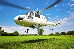 Provflyg en helikopter själv