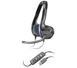 Skype-hörlurar och mikrofon