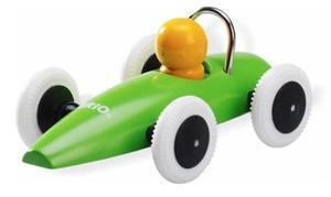 grön brio racerbil