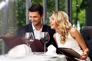 Restaurangbesök för två