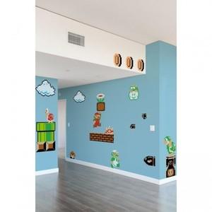 Super Mario-väggdekoration