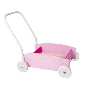 Lära-gå-vagn: Rosa