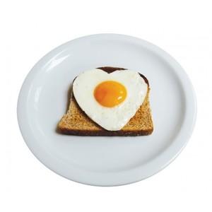 Hjärtformad äggform