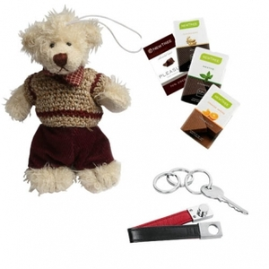 Nallebjörn med choklad