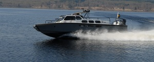 Åka stridsbåt 90-upplevelse