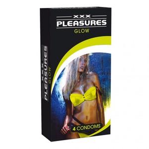 självlysande kondom
