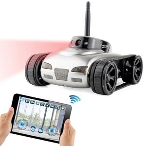 Fjärrstyrd spionbil med kamera