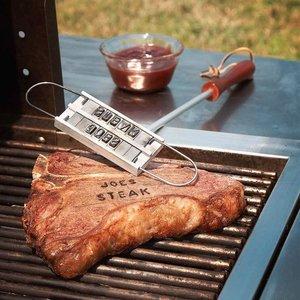 Personligt brännjärn till köttbiten