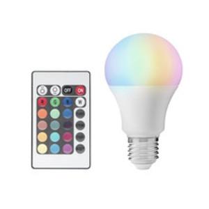 LED-lampa med fjärrkontroll