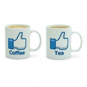 Like mugg för kaffe eller te