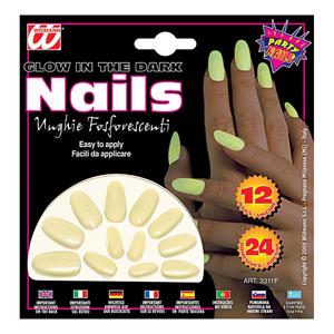 Självlysande naglar