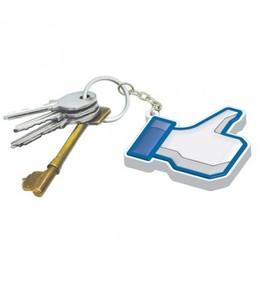 Facebook Like nyckelring