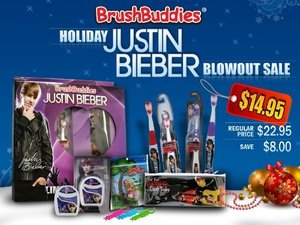 Justin Bieber - tandvårdskit