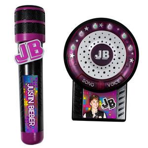 Justin Bieber mikrofon