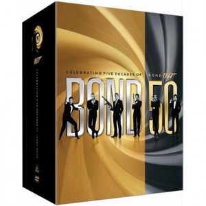 James Bond DVD-box