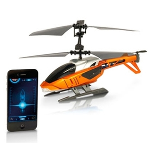 Bluetooth-styrd helikopter