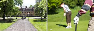 Lyxig golfweekend på herrgård