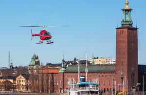 Helikoptertur med sightseeing