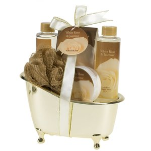 Spa Gift Set - White Rose & Jasmine