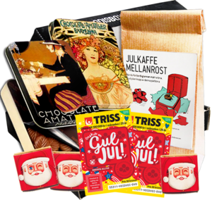 gourmet jul box godis