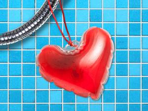 Hjärtformad tvål