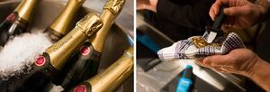 Ostronprovning med champagne för två
