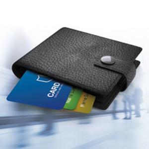 Plånbok som skyddar mot elektroniska ficktjuvar
