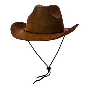 Cowboyhatt (brun)