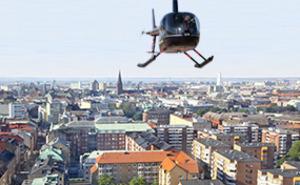 Helikoptertur - Malmö