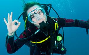 Prova-på-dyk för två