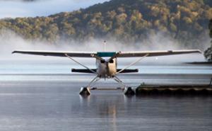 Provspaka sjöflyg