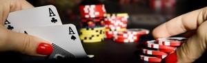 Kasino Pokerutmaning för 7 pers.
