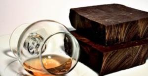 Rom- och choklad för två personer