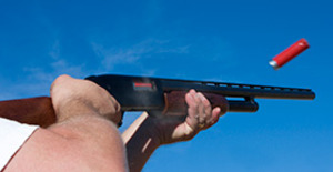 Lerduveskytte & Magnum 44 för två