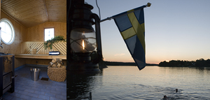 Bastuflotte i Stockholm