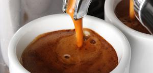 Kaffeprovning i Östermalmshallen
